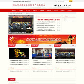<b>陇南市武都区文化体育广播影视局网站项目</b>