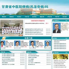 甘肃省中医院风湿骨病科网站项目