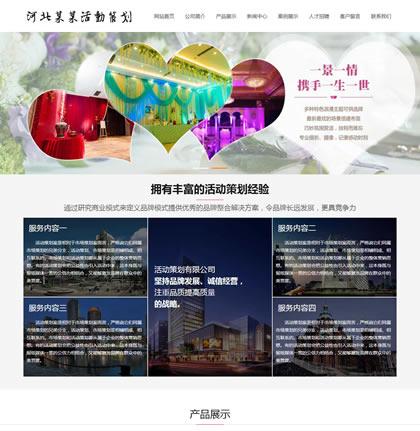策划类企业网站