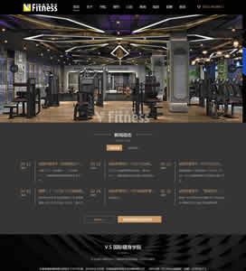 威愛斯健身網站項目