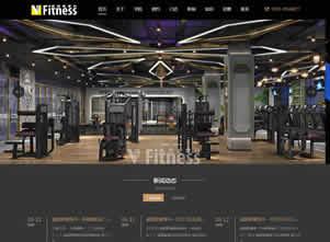 威爱斯健身网站项目